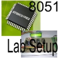 Image of 8051 Lab Setup