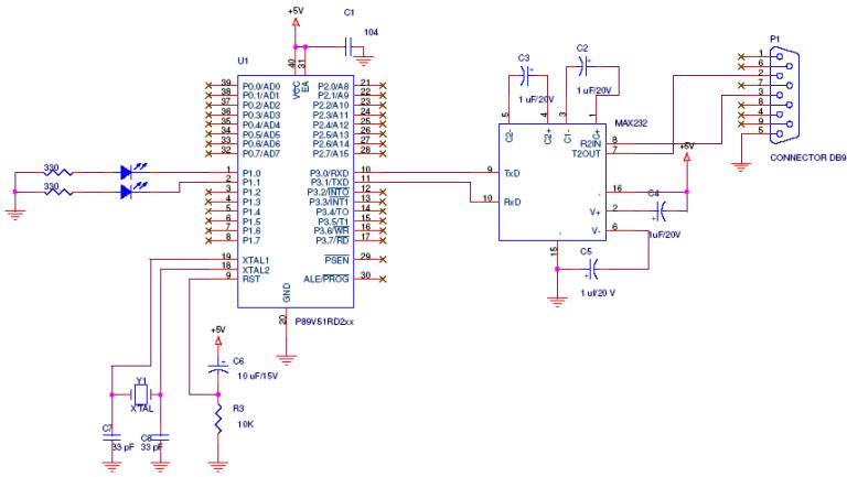8051 AND HYPERTERMINAL- EmbeddedCraft